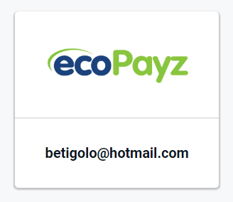 Pay by EcoPayz Button