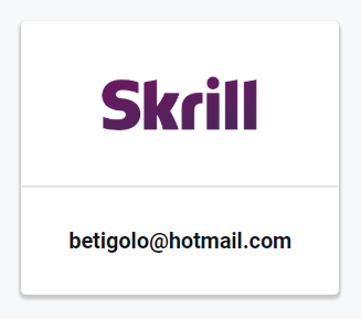 Pay by Skrill Button
